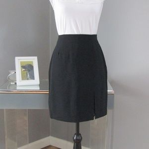 Vtg NWT Lerner New York & Company Black Skirt